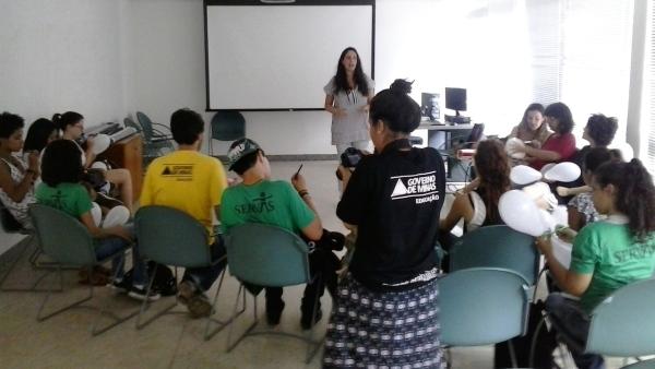 Palestra para funcionários e alunos